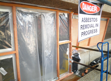 Asbestos risk management and removal with Aurora Environmental