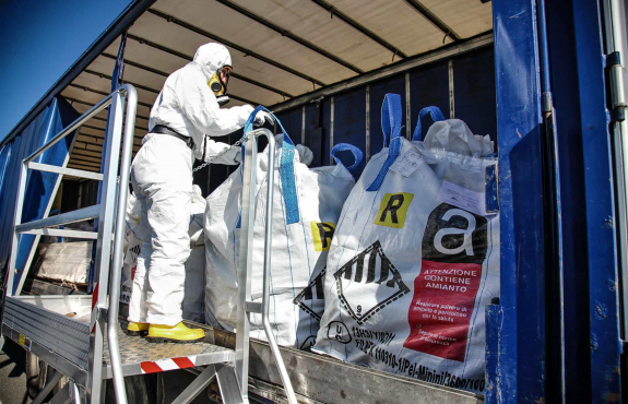 Asbestos risk management and removal with Auora Environmental
